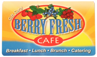 Berry Fresh Cafe Gift Card